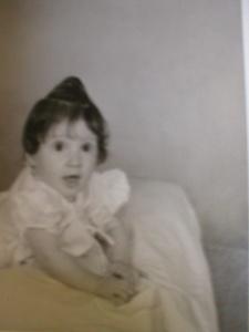 Myself as baby